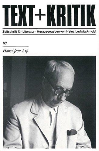 text + kritik. zeitschrift für literatur. heft: arnold, heinz ludwig