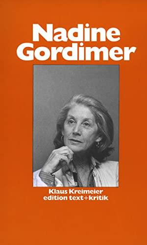 Nadine Gordimer (Schreiben andernorts) - Kreimeier, Klaus