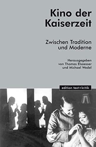 9783883776958: Kino der Kaiserzeit.