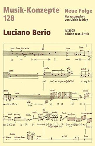 9783883777849: Luciano Berio