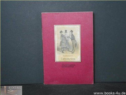 9783883791135: Caricaturiana (Die bibliophilen Taschenbücher 113)