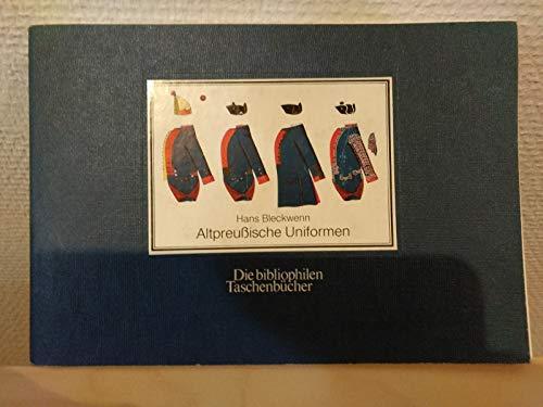 9783883792316: Altpreussische Uniformen. 1753-1786