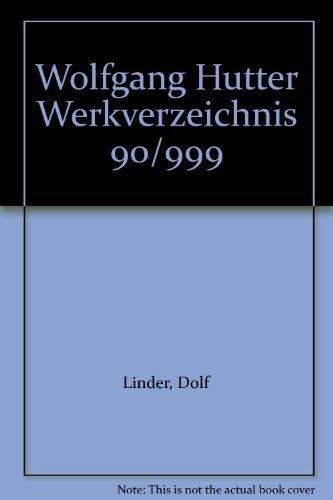 Werkverzeichnis: Hutter Wolfgang