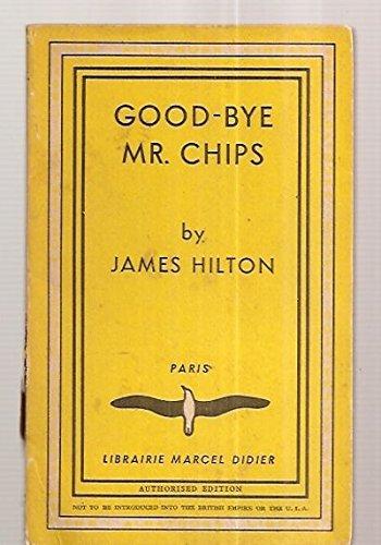 9783883890036: Goodbye Mr. Chips