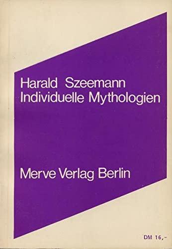 9783883960401: Individuelle Mythologien