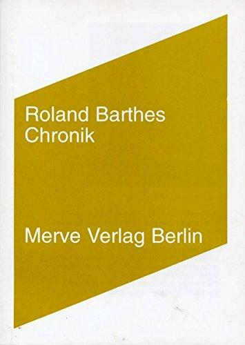 Wölfe der Zeit. Die Reise ins Herzland.: Barthes, Roland