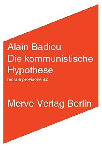 9783883962870: Die kommunistische Hypothese