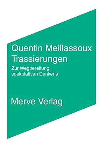 9783883963525: Anzestralität - Korrelation - Faktualität: Schriften (2006-2012)