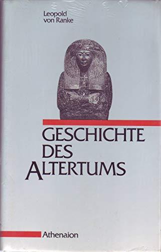 9783884001264: Geschichte des Altertums