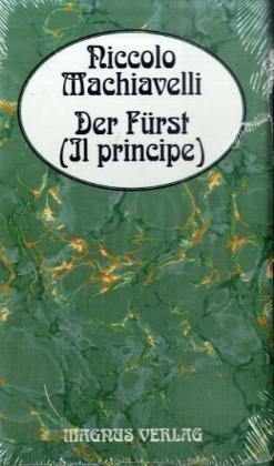 Der Fürst / Il principe: Machiavelli, Niccolò, Bock,