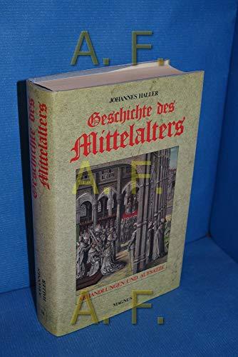 9783884001684: Geschichte des Mittelalters. Abhandlungen und Aufsätze