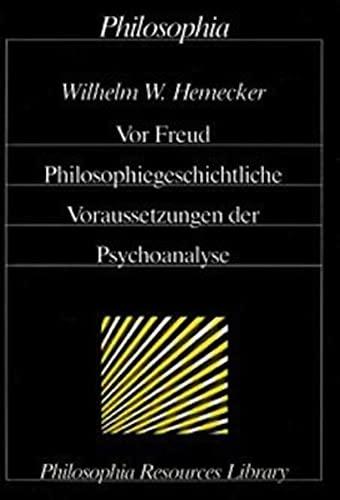 Vor Freud: Wilhelm W. Hemecker