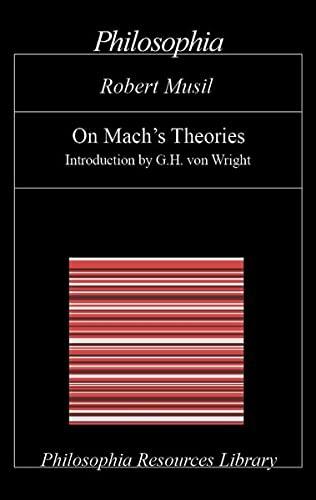 9783884050446: On Mach's Theories