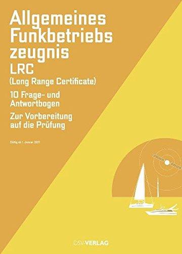 9783884124765: Allgemeines Funkbetriebszeugnis (LRC)