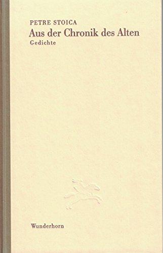 9783884232286: Aus der Chronik des Alten.