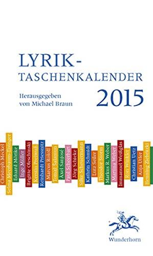 Lyrik-Taschenkalender 2015: Döring, Bianca; Drawert,