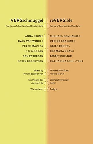 9783884235034: VERSschmuggel - reVERSible: Poesie aus Schottland und Deutschland