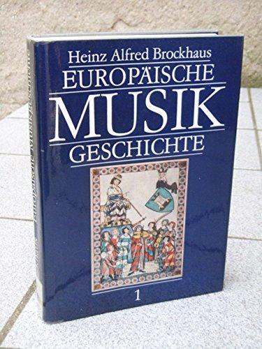 9783884361450: Europäische Musikkulturen von den Anfängen bis zur Spätrenaissance, Bd I