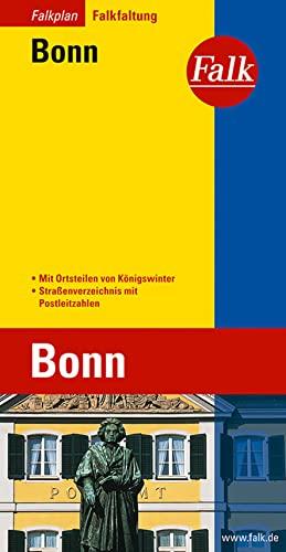 Falkplan Bonn: Mit Ortsteilen von Konigswinter. StraÃ?enverzeichnis mit Postleitzahlen: Falk-Verlag