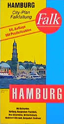 Hamburg City Plan (Falk Plan) (German Edition): Maps, Falk Plan