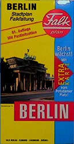 9783884451328: Berlin (Falk Plan) (German Edition)
