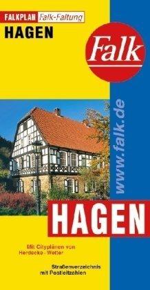 9783884451670: Falkplan Hagen: Mit Cityplänen von Herdecke, Wetter. Straßenverzeichnis mit Postleitzahlen. Falk-Faltung