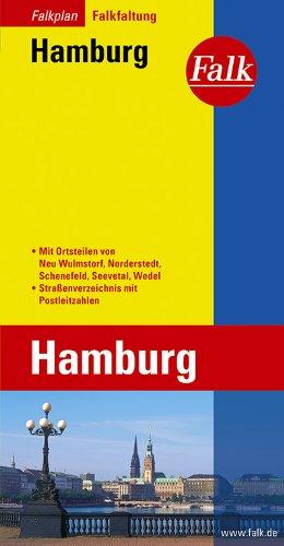 Falk-Plan Hamburg : Stadtplan Falk-Faltung [No. 31-702600]. 85. Aufl. Mit Cityplänen von Blankenese, Langenhorn, Garstedt, Duvenstedt, Neu Wulmstorf, Neugraben-Fischbek, Harburg, Bergedorf; Straßenverzeichnis mit Postleitzahlen.