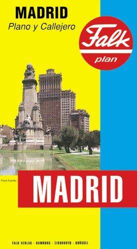 Falk Pläne, Madrid, Falkfaltung