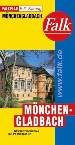 9783884452363: Falkplan Falk-Faltung Mönchengladbach
