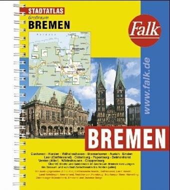 9783884453155: Städteatlas Grossraum Bremen-Oldenburg-Bremerhaven: 1:20.000 (Falk Plan) (German Edition)