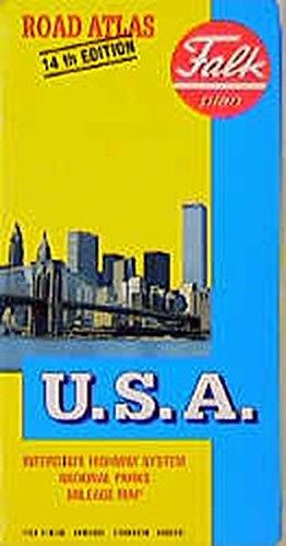 9783884453957: US-road-map (Falk Plan)