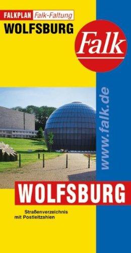 9783884454008: Falkplan Wolfsburg: Stra�enverzeichnis mit Postleitzahlen. Falk-Faltung