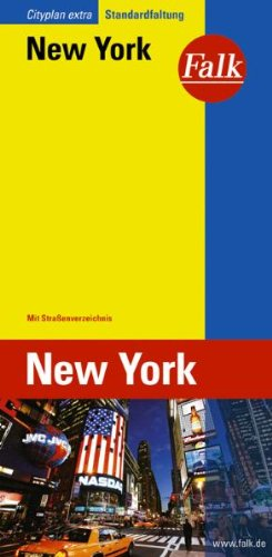 Falk Cityplan Extra Standardfaltung International New York