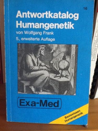 9783884542095: Humangenetik. Kurzlehrbuch und Antwortkatalog