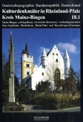 9783884622315: Kulturdenkmäler in Rheinland-Pfalz Kreis Mainz-Bingen. Tl.1