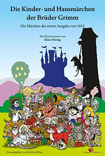 9783884623329: Die Kinder- und Hausmärchen der Brüder Grimm
