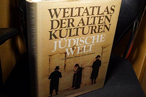 9783884720899: Weltatlas der Alten Kulturen: Judische Welt: Geschichte, Kunst, Lebensformen