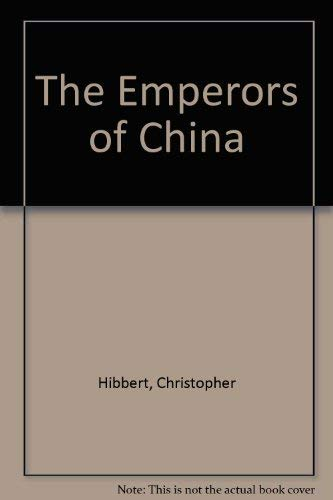9783884721209: The Emperors of China