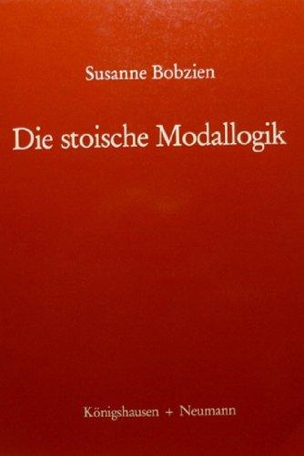 9783884792841: Die stoische Modallogik (Epistemata) (German Edition)