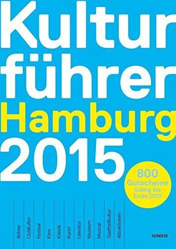 9783885060468: Kulturführer Hamburg 2015