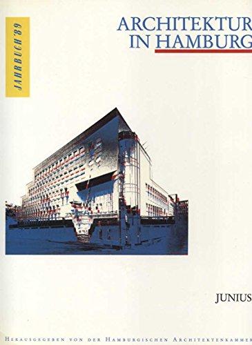 9783885061724: Architektur in Hamburg, Jahrbuch 1989