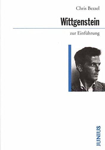 9783885063308: Wittgenstein zur Einführung