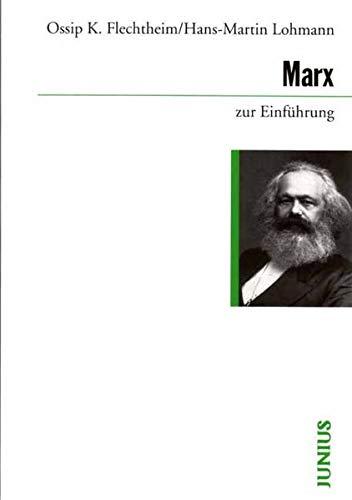 9783885063780: Marx zur Einführung