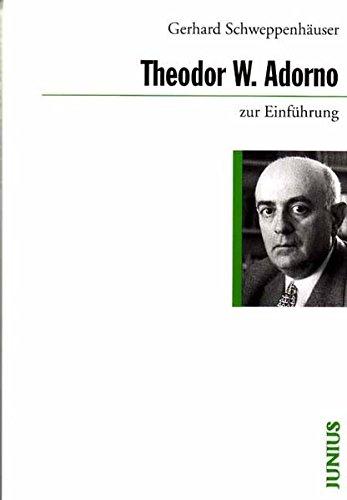 9783885063858: Theodor W. Adorno zur Einführung