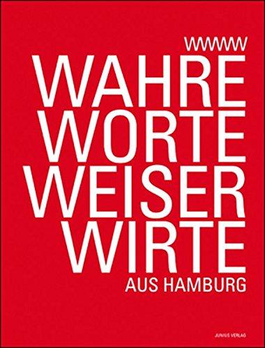 9783885064671: Wahre Worte Weiser Wirte - aus Hamburg