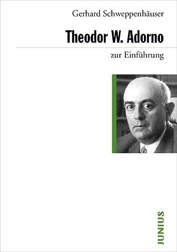 9783885066712: Theodor W. Adorno zur Einführung