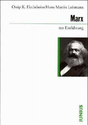 9783885068655: Marx zur Einführung