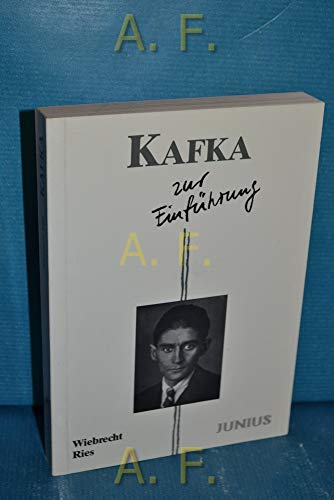9783885068860: Kafka zur Einführung
