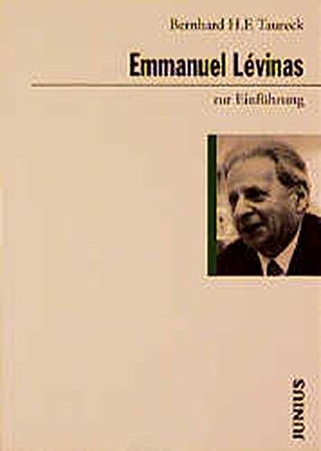9783885069539: Emmanuel Levinas zur Einführung