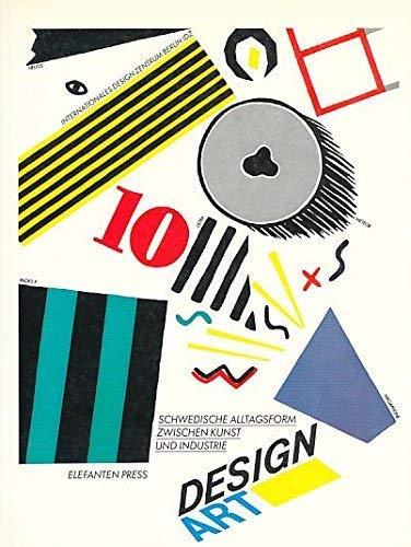 Design Art. Schwedische Alltagsform Zwischen Kunst Und: Boman, Monica